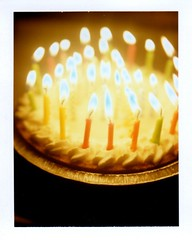 key lime birthday pie (EllenJo) Tags: birthday arizona home polaroid fire candles weekend noflash september happybirthday f56 18 virgo 2012 40thbirthday birthdaycandles keylime verdevalley clarkdale closeuplens polaroidlandcamera instantfilm fujifp100c husbandsbirthday ellenjo keylimepiepie bornin1972 ellenjoroberts polaroidpathfinder september2012 rollfilmcameraconvertedtopackfilm convertedpathfinder closeuplensplus2 happybirthdaytochad