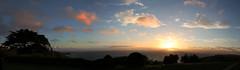 Sunset over Mounts Bay Cornwall (3) (kappacygni) Tags: sunset sea bay cornwall cove mountsbay polurriancove