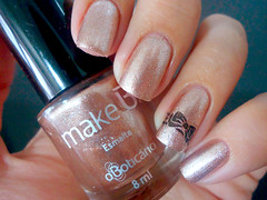 Ocean Drive Gold - O Boticário (nayaaaara) Tags: dourado nails cobre unhas boticário esmaltes cromado makeb oceandrivegold