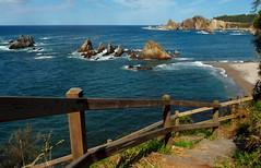 Playa de Gueira [Explore] (Serie de varias fotos) (Geli-L) Tags: mar asturias playa escalera cudillero silencio playadelsilencio gueira mygearandme mygearandmepremium mygearandmebronze mygearandmesilver mygearandmegold ruby5