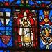 Cathédrale d Amiens : détail vitrail
