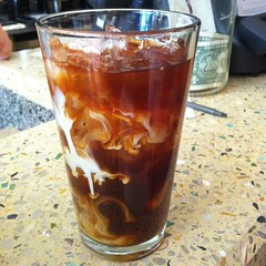 Iced Coffee @ Kava Cafe