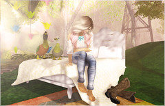- lazy-lazy-lazy afternoon - (FlowerDucatillon) Tags: life flower fashion blog post pixel second mons magika slupergirls