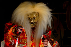 Sanza no Mai (kagura dance) (1) @Nedu-jinja Shrine (KMrT(1800mlph)) Tags: person shrine things event