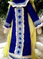 Snow Maiden (5) (McFiberNutt) Tags: thread miniature crochet folklore amigurumi