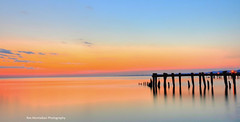abandonned pier (explored) (Rex Montalban Photography) Tags: sunrise pier winona abandonned grimsby nikond7000 rexmontalbanphotography 50point abandonnedpier
