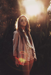 Can you feel it? (Jessica Christ) Tags: sunset selfportrait girl look fashion canon vintage lenseflare switzerland bokeh 50mm14 retro flare canon5d manual sunflare markii lookbook