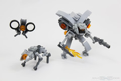 Halo 4 Commissioning Trailer Development - The Prometheans (Solid Brix Studios⁻) Tags: lego 4 halo legohalo legohalo4 prometheans