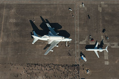Endeavour in Houston (NASA Photo) (texwilson) Tags: field station space air houston shuttle uscg ellington endeavour