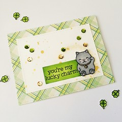 By Scrapbena Creations (Scrapbena Creations) Tags: cardmaking card luckycharm lawnfawn