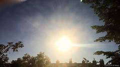 07:27 19.07.16 (jpmm) Tags: amsterdam clouds sunrise wolken flare sunrays stratus zuid 2016 zonnestralen