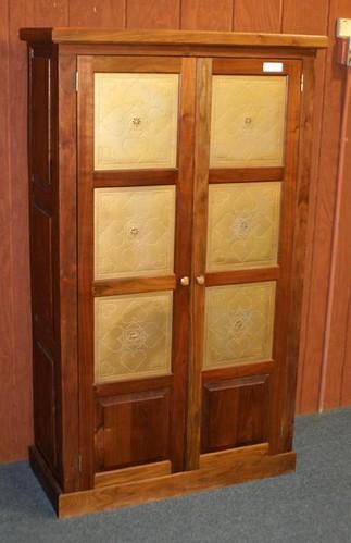 Modern Walnut 2 Door Pie Safe ($280.00)