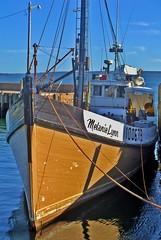 The Melanie Lynn, docked at Victoria Beach Nova Scotia in 2009. (bluenosersullivan) Tags: atlanticcanada bayoffundy annapolisroyal davesullivan fishing boat woodboat victoriabeach can