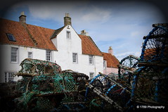 Creels at Pittenweem Harbour (Rollingstone1) Tags: creels harbour fishing buildings pittenweem fife scotland outdoor architecture coast building
