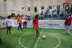 """Legendary Match"" at Bayt Qatar in Rio (Save the Dream) Tags: olympicgamesqatarhousecasadaros659693357august10q riodejaneiro brazil olympicgamesqatarhousecasadaros659693357august10qatarolympiccommitteeriodejaneirobotafogo baytqatar qatarhouse ooredoo qoc qatarolympiccommittee savethedream icss rio brasil zico cafu felipejorge dunga victorpantera lucio marcelotavares karembeu trezeguet marcosassuncao summerolympicgames rioolympicgames olympicgames rio2016 yallaqatar qatarsport sportactivity favelaschildren favela legendarymatch footballmatch braziliankids riokids legendfootballplayers brazilianfootballplayers retiredfootballplayers charity nonprofitorganization savethechildren childsdream unitednations unicef unicefbrasil streetchildunited streetchild riostreetkids internationalcenter sportsecurity mohammedhanzab massimilianomontanari"