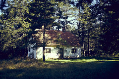 Simplicity we all miss (igo.rs) Tags: house countryside cottage rural old abandoned forest beautiful sunrise