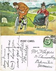 Post Card to Frederick Thomas Chatfield Uttoxeter, Staffordshire 1908 (North West Kent Family History Society) Tags: postcard sent mrselizabethchatfield 31laburnamcottage balancehill uttoxeter staffordshire 20thjune1907 sister anniebeck born 187marriedwilliuamhenryharper 1896 derby ecbdcollection elizabethbeck 1876 abbotsbromley daughter josephbeck barbarabeck frederickthomaschatfield 1898 son alfredgeorgechatfield elizabethjanechatfield 1908 63smithfieldroad 21stdecember1910