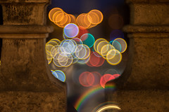 Bubble Collector - Explore # 1 (late entry) (*Capture the Moment*) Tags: 2016 angel blickzurstadt bokeh bubbles fotowalk friedensengel munich mnchen sonya7ii trioplan28100neo viewtocity bokehlicious dof pov