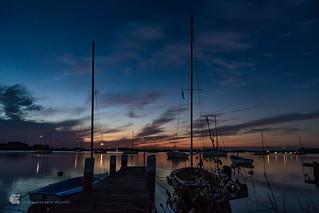 Sunset, Maasholm