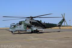 8960 Forca Aerea Brasileira (Thiago Pereira Machado) Tags: 8960 fab mil mi35 poti rondonia anapolis anpolis brazil military hind sabre ah2