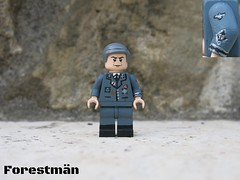Colonel Hans Landa aus de la SS (Forestmn) Tags: lego hans landa ww2 wwii customized inglourious basterds