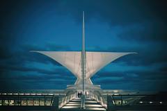 If You Could Only Be Here (Thomas Hawk) Tags: america milwaukee milwaukeeartmuseum santiagocalatrava usa unitedstates unitedstatesofamerica wisconsin architecture fav10 fav25 fav50 fav100