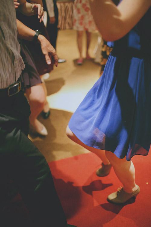 婚禮攝影-舞動的腳