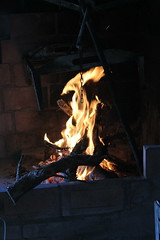 Fire (laurajayne.ogrady) Tags: barbeque spain fire burning wood evening warmth cannon1200d