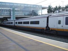 Section of Class 373 003/004 at Ebbsfleet Intl Station. (DesiroDan) Tags: highspeed1 ebbsfleetinternationalstation eurostar eurostarclass373 class373eurostar uktrains ukelectricunits highspeedtrainsintheuk britishrailclass373 tgvtmst