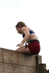 Walls of Fury- on top (OakleyOriginals) Tags: conquerthegauntlet race obstacles torpedo wallsoffury stairwaytoheaven cliffhanger tulsa ok august 2016 challenge strength fitness competitive medals