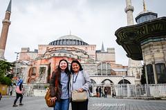 Aya Sofya1-0399crw (Luciana Adriyanto) Tags: travel turkey istanbul museum ayasofya hagiasofia flowers v1olet lucianaadriyanto