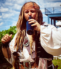 DSC02609 (Welshmenphotos) Tags: pirates sony a6000 konica 40mm sigma quantaray 28mm festival florida punta gorda photography photographer photos swords knives fencing guitar music live concert fineart fine art