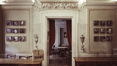 Zingar Jazz Club (lorenzog.) Tags: 2016 zingarjazzclub jazzclub tonki palazzoferniani faenza interiors italy cameraphone huaweip8lite