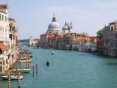 View from the academia bridge, Venice (Nevrimski) Tags: basilca di sante maria della salute academia