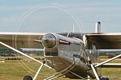 Premier solo de Taz sur Pil' (Marlon Cocqueel) Tags: pilatus pc6 fgmel porter avion aviation aircraft avgeek arodrome de lens disquedhlice hlice pale