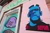 FrankenSe7en (battlebran) Tags: seven frankenstein graff graffiti streetart wheatpaste awesomeness toronto queen colouralley
