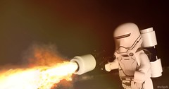 Fire At Will! (willgalb) Tags: firstorder flametrooper theforceawakens starwars lego