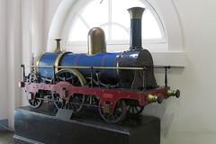 A Victorian model locomotive (DaveAFlett) Tags: kingscollegelondon victorian locomotive steamlocomotive 222 peterbrotherhood openhouse