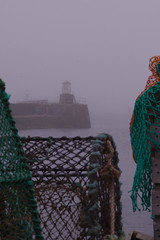 Misty harbour (b16dyr) Tags: mist scotland fife pittenweem scotchmist fifecoastalwalk seaharr seahar pittenweemharbour