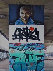 Graffiti Zaandam (Akbar Sim) Tags: streetart france holland netherlands graffiti los nederland artic hof zaandam a8 zaanstad koogaandezaan akbarsimonse akbarsim writersfromparis
