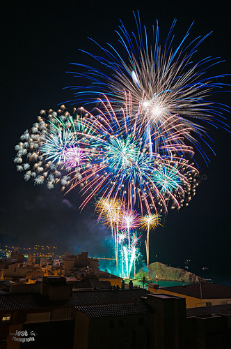 Noche de color / Night of color ***Concurso Fuegos Artificiales Blanes 2012  /  Fireworks Contest Blanes 2012-Finalista/Finalist***