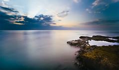 Hunstanton - Alien Landscape (Matthew Dartford) Tags: ocean longexposure sea seascape beach water rock sand norfolk east filter 1740mm anglia neutraldensity
