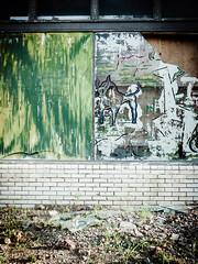 Broken Glass (xmunos) Tags: street urban streetart art glass photography raw decay urbandecay streetphotography olympus urbanart ep3 m43