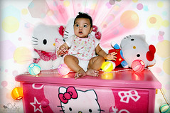 Its a Baby Paradise (Yanily66) Tags: portrait baby hellokitty serenity itsagirl dgphotography memorycorner memorycornerportraits yanily