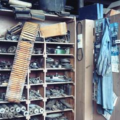 (.tom troutman.) Tags: mill abandoned 120 6x6 film philadelphia mediumformat industrial kodak pennsylvania decay pa bronica philly sq portra ai wildeyarn