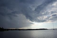 Dark sky (TimoOK) Tags: sea sky cloud water dark meri vesi vaasa pilvi taivas tumma