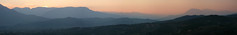 (Katka S.) Tags: sunset sky panorama mountains colour nature silhouette landscape greek greece mountians meteora kalambaka kalampaka trikala kastraki