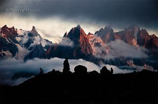 Las agujas de Chamonix en las ultimas horas del dia _DSC4439 r esf ma
