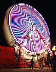 CNE Opening Day (WhatTheDickens?!?) Tags: carnival toronto lights exhibition swing cne nighttime ferriswheel amusementpark rides tdot amusementparks torontophotography candiannationalexhibition