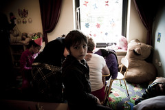 Children in reception centre in Kolonia Horbw (UNHCR Central Europe) Tags: children child poland safety reception kindergarten migration humanrights asylum integration asylumseekers forcedmigration receptioncentre koloniahorbw